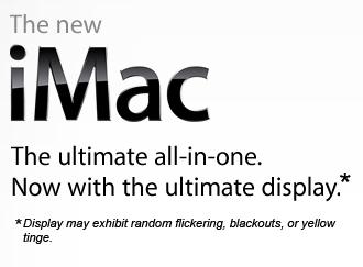 iMac truthful advertising