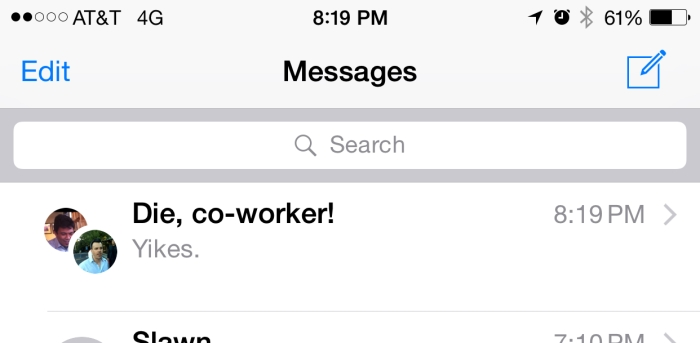The only legitimate iOS 8 privacy concern: iMessage group naming
